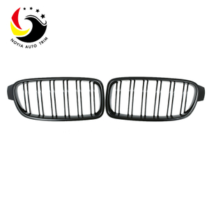 Bmw 3 Series F30/F31/F35 12-IN 2-Slat Gloss Black Front Grille
