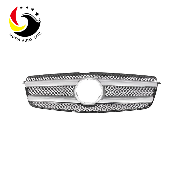 Benz GL Class X166 10-14 Original Style Silver Front Grille