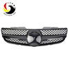 Benz SL Class R230 AMG Style 07-09 Gloss black 1-Fin Front Grille