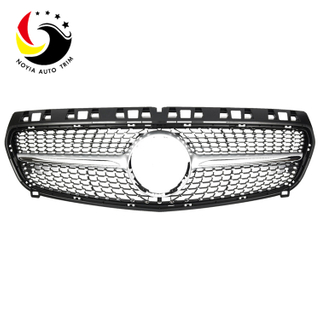 Benz A Class W176 Diamonds 13-15 Silver Front Grille