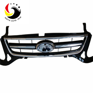 Ford Mondeo/Fusion 2011 Grille(Hight Light Painted)(Chromed Framework)