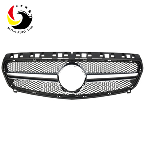 Benz A Class W176 A45 Style 13-15 Chrome Black Front Grille