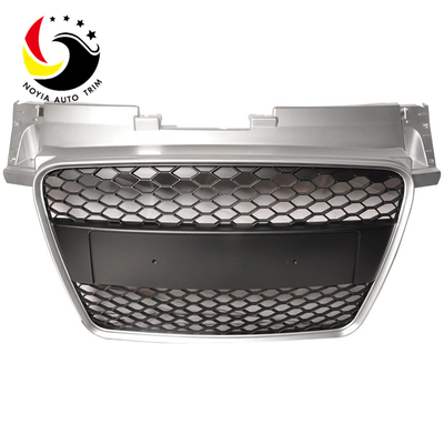 Audi TT 06-09 RS Style Chromed Frame Black Grid Front Grille (No Logo)