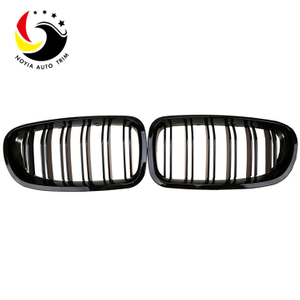 Bmw 5 Series F10/F11/F18 10-16 2-Slat Gloss Black Front Grille