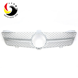 Benz CLS Class W219 AMG Style 08-11 Chrome 1-Fin Front Grille