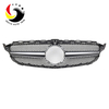 Benz C Class W205 AMG Style 15-IN Silver Front Grille