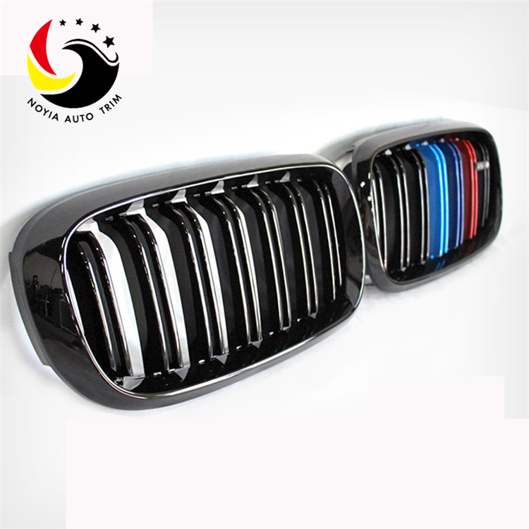 Bmw X5/X6 F15/F16 2014/2015-IN 2-Slat Glossy M Colour Front Grille