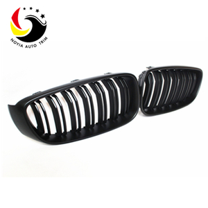 Bmw 3 Series GT F34 12-IN 2-Slat Matte Black Front Grille