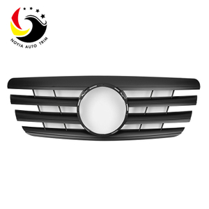 Benz E Class W210 AMG Style 00-02 Matte Black 2-Fin Front Grille