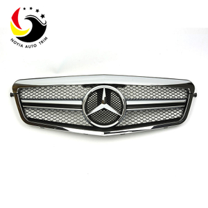 Benz E Class W212 E63 Style 10-13 Chrome Front Grille