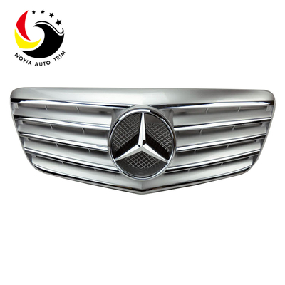 Benz E Class W211 Sport Style 07-09 Silver Front Grille
