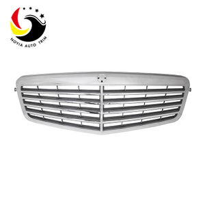 Benz E Class W212 10-13 Original Style 4-FIN Black Front Grille