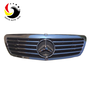 Benz S Class W221 Sport Style 06-07 Chrome Black Front Grille