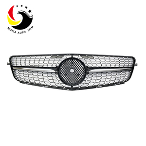 Benz C Class W204 Diamonds 07-14 Chrome Front Grille