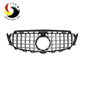 Benz E Class W213 16-IN GTR Style Silver Front Grille