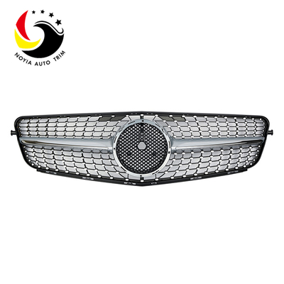 Benz C Class W204 Diamonds 07-14 Silver Front Grille