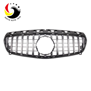 Benz A Class W176 GTR Style 13-15 Chrome Silver Front Grille