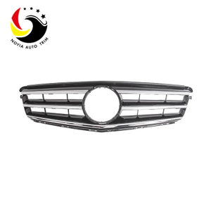Benz C Class W204 08-14 Original Style Silver Front Grille