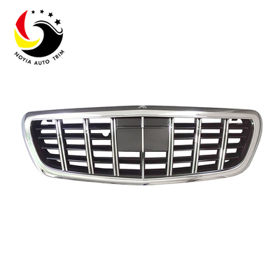 Benz S Class W222 S65 Style 14-IN Chrome Front Grille