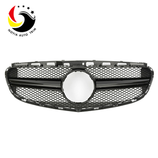 Benz E Class W212 AMG Sport Style 14-15 Gloss Black Front Grille