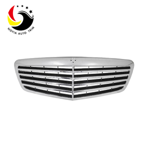 Benz S CLass W221 10-13 Original Style Chrome Silver Front Grille