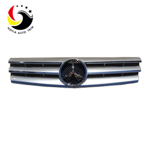 Benz SL Class W129 AMG Style 90-02 Chrome Silver 3-Fin Front Grille