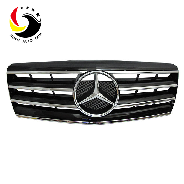 Benz E Class W140 Sport Style 92-98 Chrome Black Front Grille