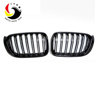 Bmw X3/X4 F25/F26 14-IN 2-Slat Gloss Black Front Grille