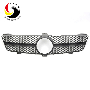 Benz CLS Class W219 AMG Style 08-11 Matte Black 1-Fin Front Grille