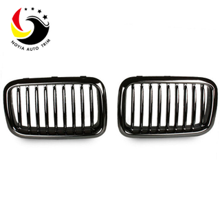 Bmw E36 91-96 Gloss Black Front Grille