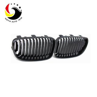 Bmw E87 08-11 Gloss Black Front Grille