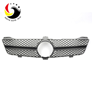 Benz CLS Class W219 AMG Style 08-11 Gloss Black 1-Fin Front Grille
