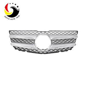 Benz GLK Class X204 13-15 Original Style Silver Front Grille