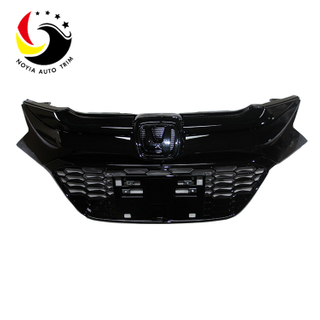 All Black Front Grille For Honda HR-V 2016-2018