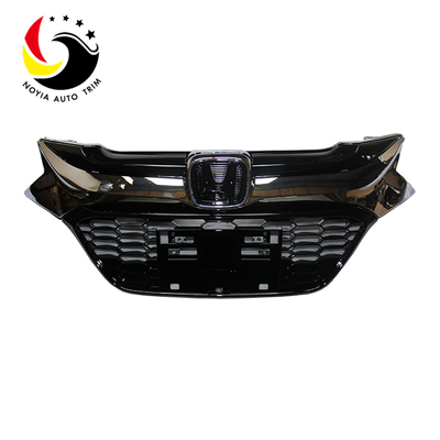 Chrome Black Front Grille For Honda HR-V 2016-2018